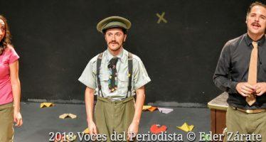 """""""Guerra"""", obra de teatro clown se presenta en el Foro Shakespeare"""