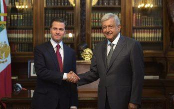 Hasta 01 de diciembre, nuevo encuentro entre Peña Nieto y López Obrador
