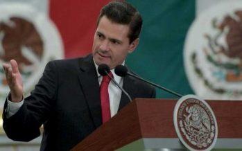 Instruye Peña Nieto atender desbordamiento de río en Michoacán