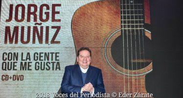 """""""Con la Gente que me Gusta"""" es el título del nuevo CD+DVD de Jorge """"Coque"""" Muñiz"""