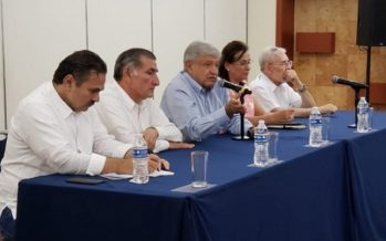 López Obrador llama a empresarios a fortalecer sector petrolero