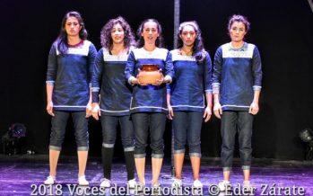 """""""Lila"""", un viaje reflexivo sobre la mujer, a través del circo contemporáneo estrenó ayer en el Teatro Sergio Magaña"""