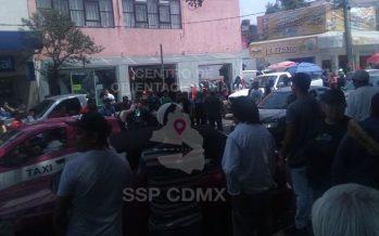 Manifestantes complican la circulación en avenida Leandro Valle