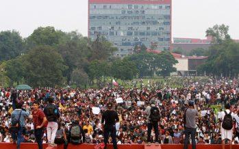 Autoridades confirman saldo blanco en marchas a Ciudad Universitaria