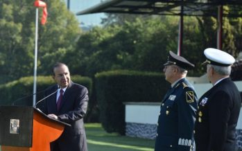 Se entregará un país en paz, por solidez de instituciones: Navarrete Prida