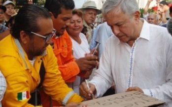 No le vamos a fallar al pueblo de México: López Obrador