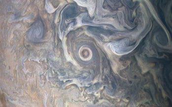 La NASA capta imágenes oníricas de las nubes de Júpiter