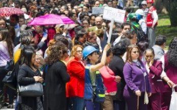 Participan mil 250 personas en simulacro de sismo en la Corte