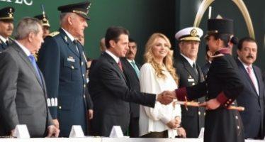 Peña Nieto encabeza 171 Aniversario de Gesta Heroica de Niños Héroes