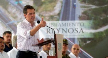 Peña Nieto pide a EUA trabajo conjunto para frenar tráfico de armas