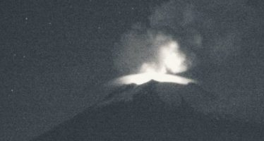 Popocatépetl registra 85 exhalaciones, dos sismos y tres explosiones