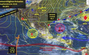 Prevén tormentas de muy fuertes a intensas en el noreste del país