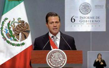 Reformas, el logro más importante de esta administración: Peña Nieto
