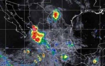 Reportan en la Península de Baja California una zona de baja presión