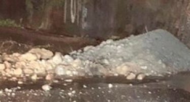 Reportan otro deslave en Lomas de Santa Fe; afecta vialidad