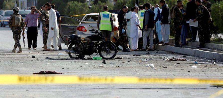 Suman 68 muertos por atentado en manifestación en Afganistán