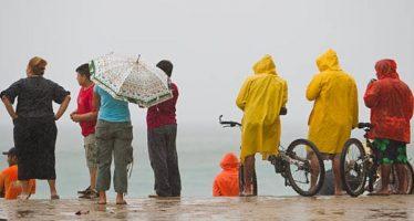 Tormenta tropical y zonas de inestabilidad afectarán la mayor parte del país
