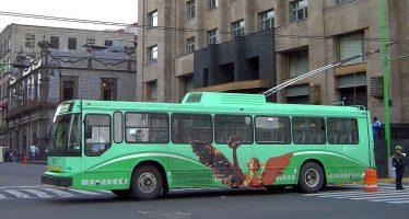 Trolebús dará servicio provisional en dos líneas por festejos patrios