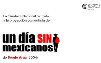 """Sergio Arau comentará """"Un día sin mexicanos"""" en la Cineteca Nacional"""