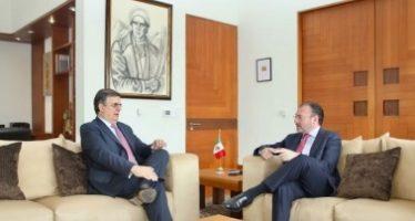 Videgaray y Ebrard dialogaron sobre la condición actual de Cancillería